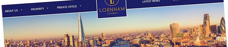 Lornham London - New Website